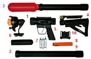 line launcher Standard package