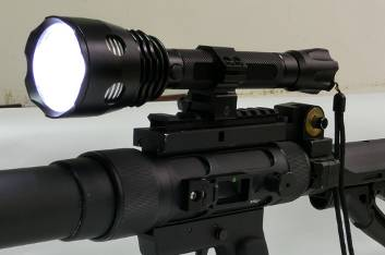 line launcher with LED