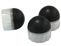 Fin-stabilized Rubber ball